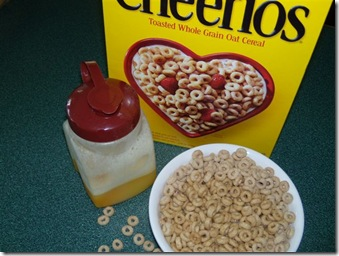 OJ and cheerios