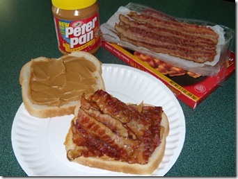 PB and bacon