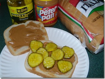 PB and pickles
