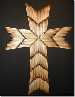 matchstick cross