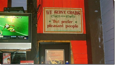 We Serve Crabs