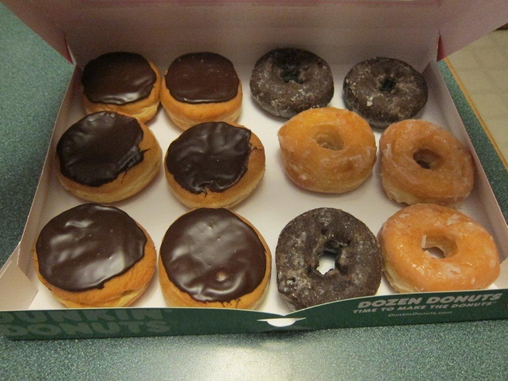 Dunkin Donuts Glazed Chocolate Donut Calories